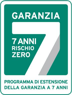 Garanzia 7 anni