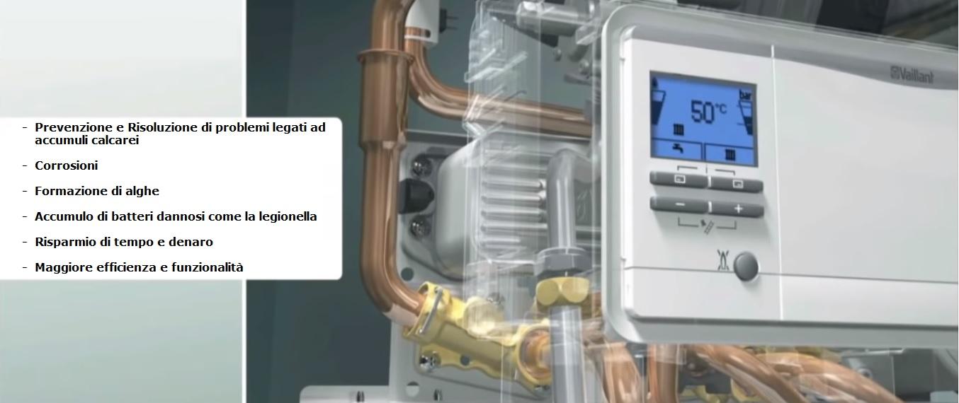lavaggio impianti di riscaldamento